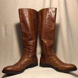 Enzo Angiolini Brown Leather Boots